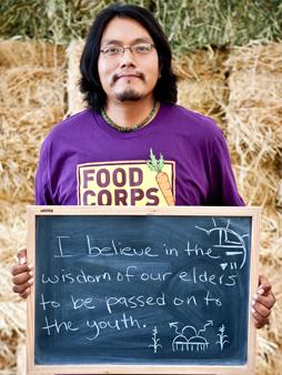 David Pecusa / Service Member / FoodCorps « Good Food Jobs