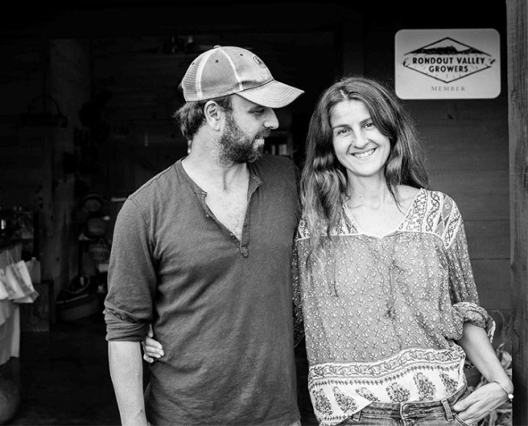 Laura Ferrara & Fabio Chizzola / Owners / Westwind Orchard