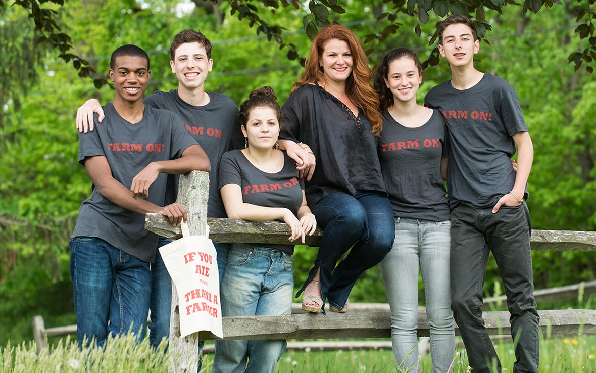 Tessa Edick / Founder + Executive Director / FarmOn! Foundation
