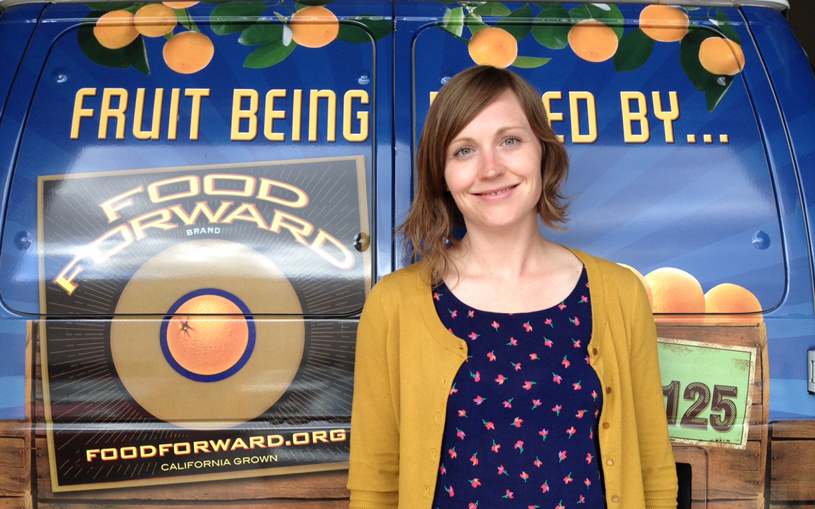 Laura Jellum / Outreach & Communications Director / Food Forward
